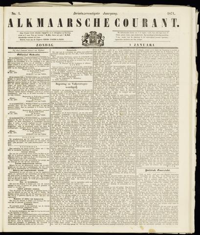 Alkmaarsche Courant 1871-01-01