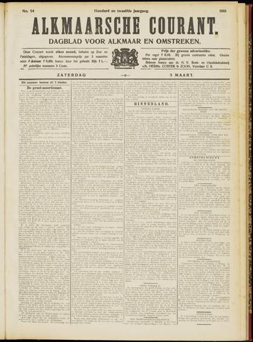 Alkmaarsche Courant 1910-03-05