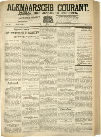 Alkmaarsche Courant 1933-08-21