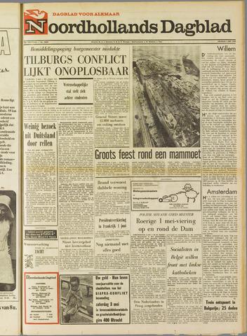 Noordhollands Dagblad : dagblad voor Alkmaar en omgeving 1969-05-02
