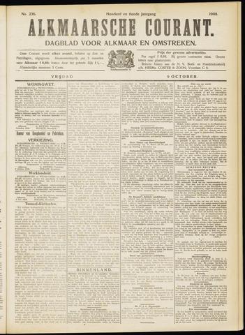Alkmaarsche Courant 1908-10-09