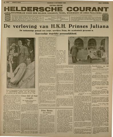 Heldersche Courant 1936-09-09