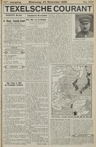 Texelsche Courant 1938-11-23