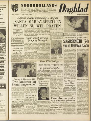 Noordhollands Dagblad : dagblad voor Alkmaar en omgeving 1961-01-26