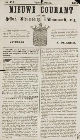 Nieuwe Courant van Den Helder 1865-12-23