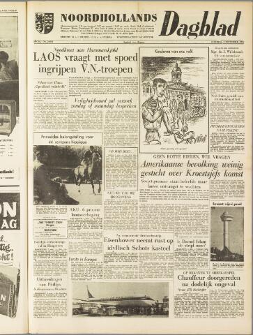 Noordhollands Dagblad : dagblad voor Alkmaar en omgeving 1959-09-05