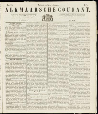 Alkmaarsche Courant 1871-05-21