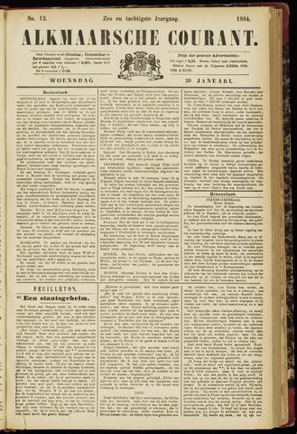 Alkmaarsche Courant 1884-01-30