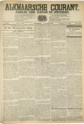 Alkmaarsche Courant 1930-03-01