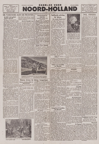 Dagblad Noord-Holland, Schager editie 1943-09-15