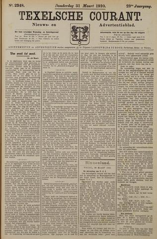 Texelsche Courant 1910-03-31