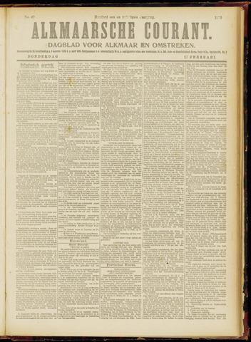 Alkmaarsche Courant 1919-02-27