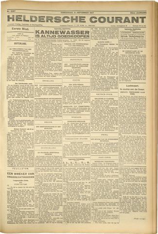 Heldersche Courant 1927-09-08