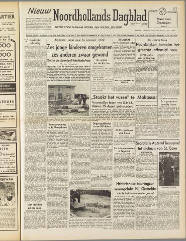 Nieuw Noordhollandsch Dagblad : voor Alkmaar en omgeving 1950-08-14