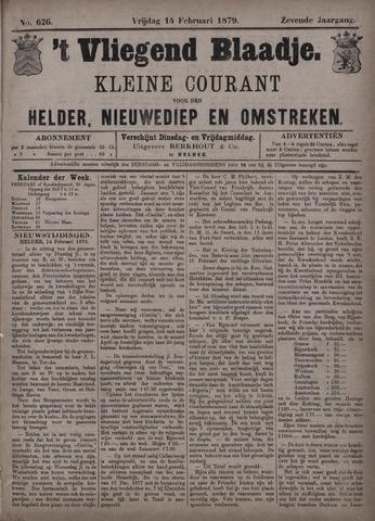 Vliegend blaadje : nieuws- en advertentiebode voor Den Helder 1879-02-14