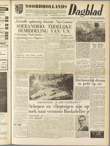 Noordhollands Dagblad : dagblad voor Alkmaar en omgeving 1961-11-21