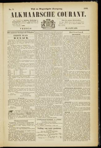 Alkmaarsche Courant 1893-01-20