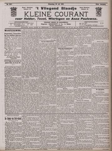 Vliegend blaadje : nieuws- en advertentiebode voor Den Helder 1902-07-23