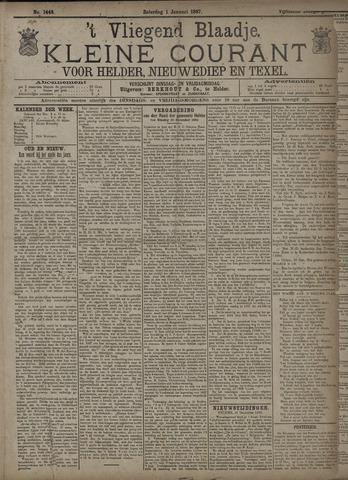 Vliegend blaadje : nieuws- en advertentiebode voor Den Helder 1887-01-01