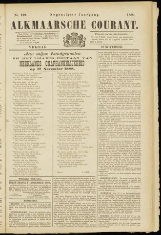 Alkmaarsche Courant 1888-11-16