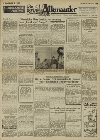 De Vrije Alkmaarder 1949-01-29