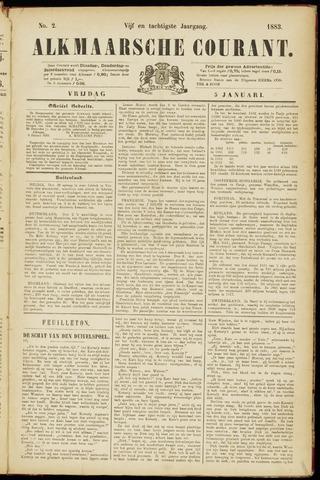 Alkmaarsche Courant 1883-01-05