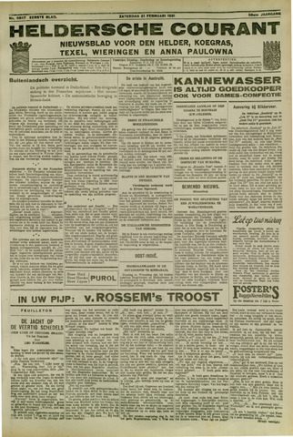 Heldersche Courant 1931-02-21