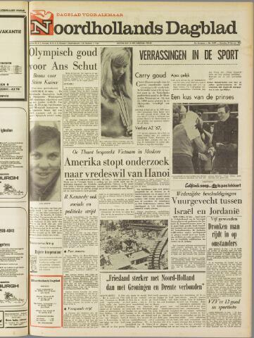 Noordhollands Dagblad : dagblad voor Alkmaar en omgeving 1968-02-12