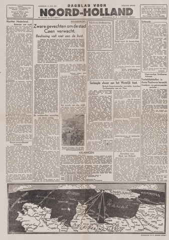 Dagblad Noord-Holland, Schager editie 1944-06-14