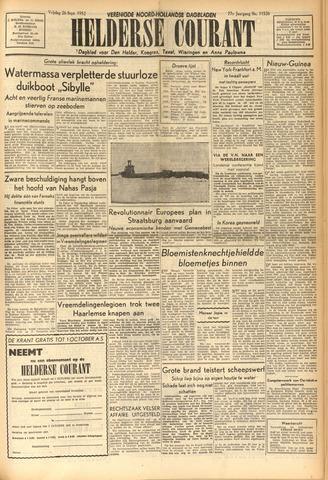 Heldersche Courant 1952-09-26