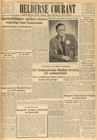 Heldersche Courant 1954-06-28