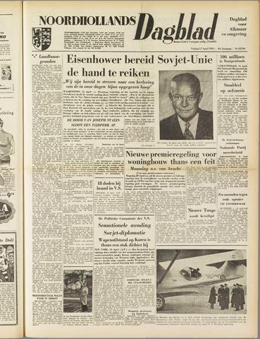 Noordhollands Dagblad : dagblad voor Alkmaar en omgeving 1953-04-17
