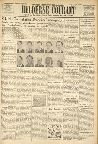 Heldersche Courant 1949-07-13