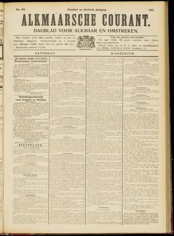 Alkmaarsche Courant 1911-08-19