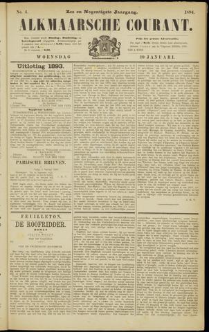 Alkmaarsche Courant 1894-01-10