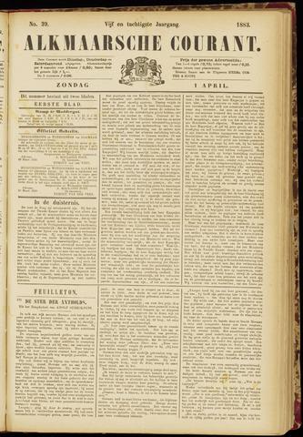 Alkmaarsche Courant 1883-04-01