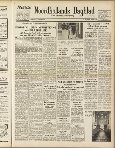 Nieuw Noordhollandsch Dagblad : voor Alkmaar en omgeving 1947-09-25