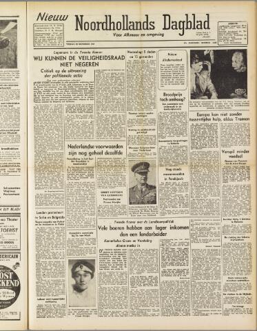 Nieuw Noordhollandsch Dagblad : voor Alkmaar en omgeving 1947-09-26