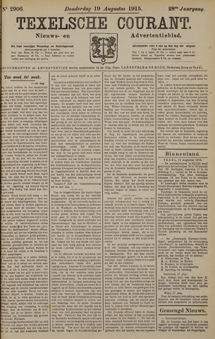 Texelsche Courant 1915-08-19