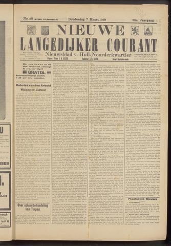 Nieuwe Langedijker Courant 1929-03-07
