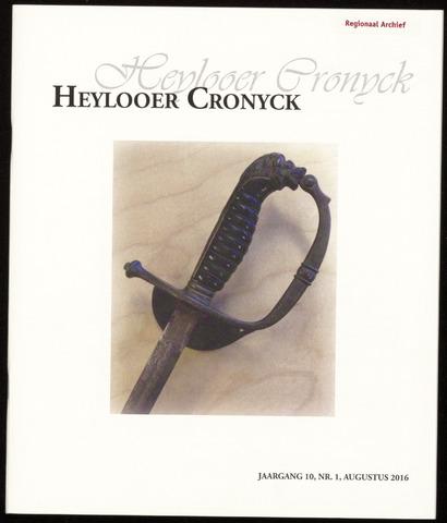 Heylooer Cronyck 2016-08-01