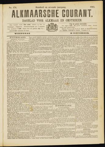 Alkmaarsche Courant 1905-11-15
