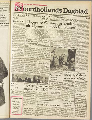 Noordhollands Dagblad : dagblad voor Alkmaar en omgeving 1963-10-26