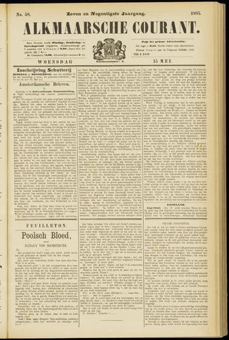 Alkmaarsche Courant 1895-05-15