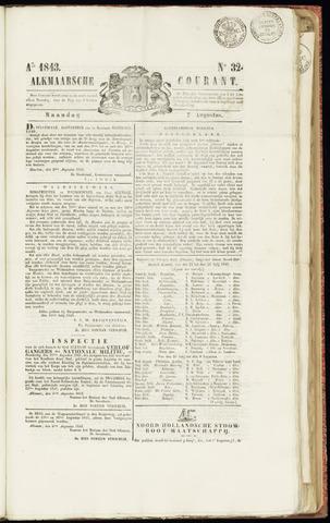 Alkmaarsche Courant 1843-08-07