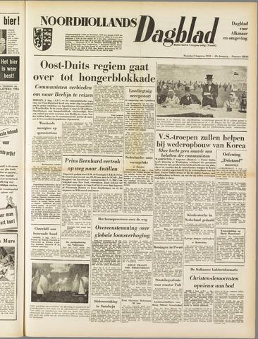 Noordhollands Dagblad : dagblad voor Alkmaar en omgeving 1953-08-03