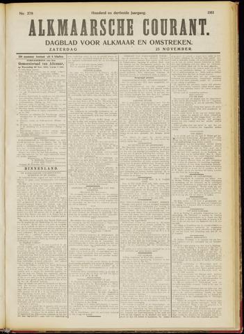 Alkmaarsche Courant 1911-11-25