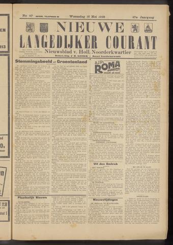 Nieuwe Langedijker Courant 1928-05-16
