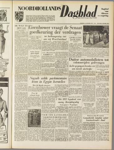 Noordhollands Dagblad : dagblad voor Alkmaar en omgeving 1954-11-16