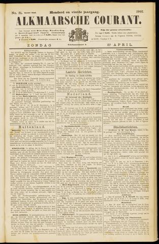 Alkmaarsche Courant 1902-04-27